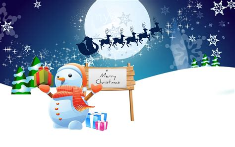 christmas wallpaper cartoons merry wallpapers