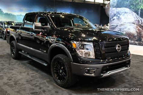 nissan titan midnight edition 2017 chicago auto show gallery see the stunning vehicles