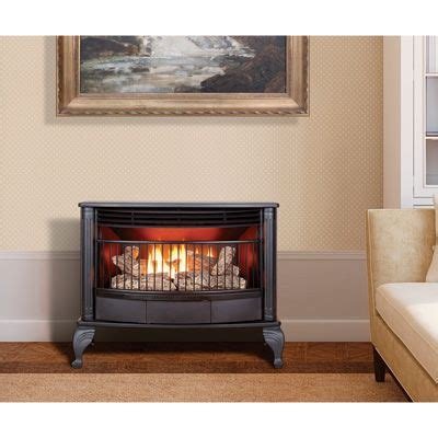 How Much Propane Does A Gas Fireplace Use by Procom Dual Fuel Stove 25 000 Btu Model Qd250t