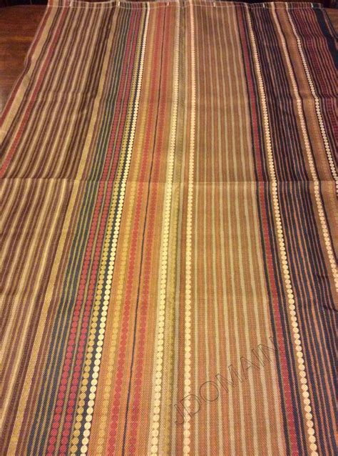 Southwestern L by Southwest Fabric Shower Curtain Earth Tones Colors