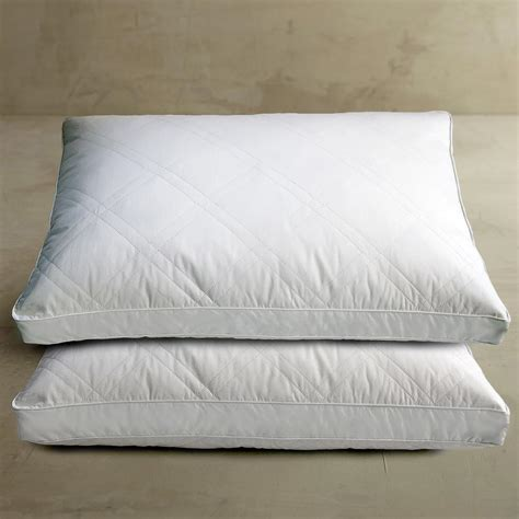 Pack Pillow - blue ridge white goose feather and jumbo pillow 2