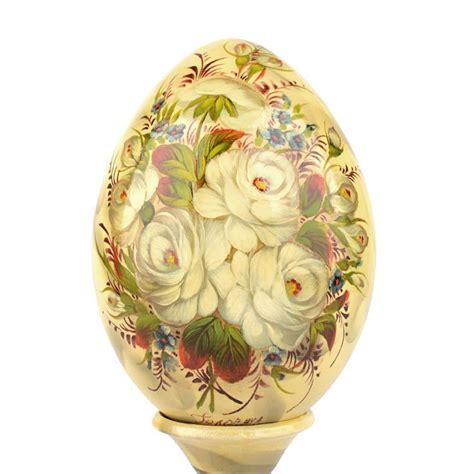 decorative wooden eggs decorative egg on stand the - Decorative Eggs