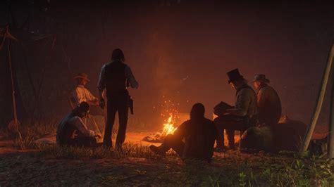 craft  camp  campfire  red dead redemption  shacknews