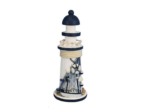 Cheap Lighthouse Decor by Buy Wooden Rustic Cove Decorative Lighthouse 10 Inch
