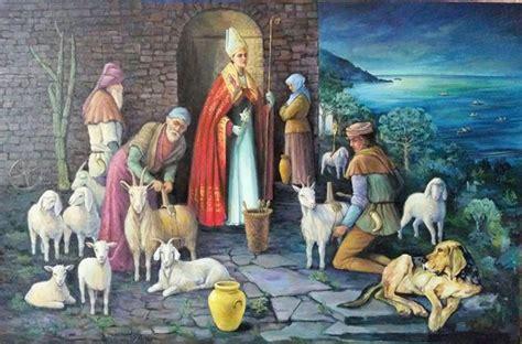 ufficio turismo madonna di ciglio castellabate riceve il primo dipinto sulla leggenda di san