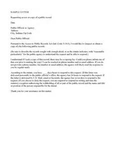 Business Letter Exle Letter Of Request Exle Records Request Letter 1