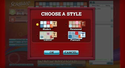 scrabble   multiplayer word game pogo
