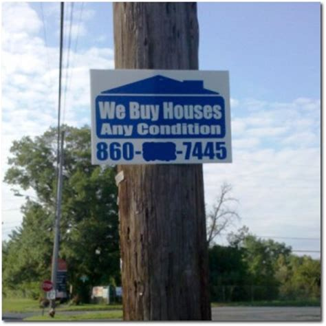 we buy houses signs we buy houses too greater hartford real estate blog