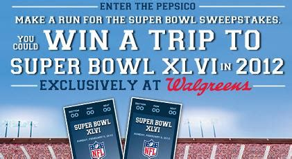 Walgreens Monthly Sweepstakes Winners - walgreens super bowl sweepstakes