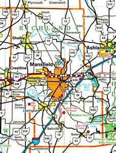 richland county ohio map ohiobiz