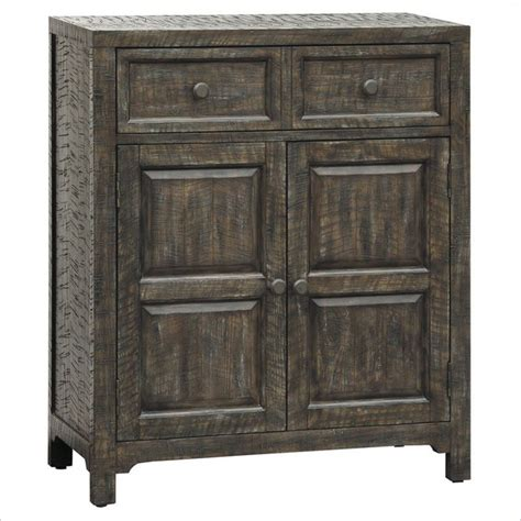 accents and armoires pulaski accents rustic chic hall chest in parker