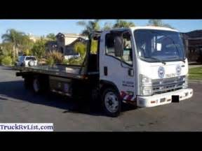 Isuzu Flatbed Tow Truck For Sale 2008 Isuzu Npr Flatbed Tow Truck For Sale