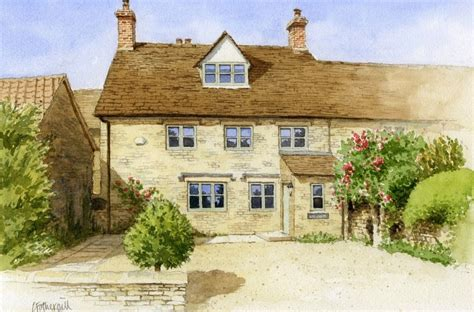 house portrait artist cotswold paintings archives chris fothergill