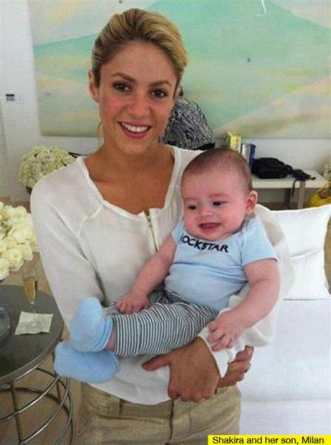 shakira welcomes baby boy and his name is e news shakira breast feeding baby milan singer plans to breast