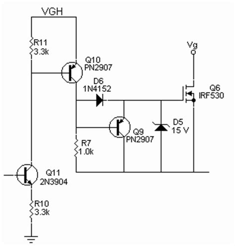 transistor mosfet gate driver circuit team godfather