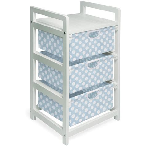 storage bins with drawers walmart badger basket 3 drawer her storage unit white with