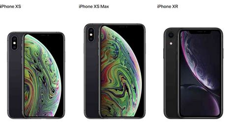 iphone xs iphone xs max y iphone xr los nuevos smartphones de apple