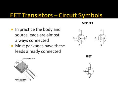 fet transistor in a circuit ppt transistors powerpoint presentation id 775002