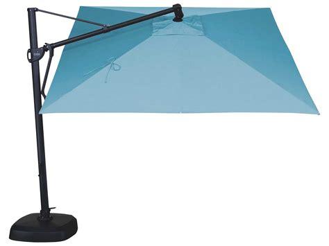 Patio Umbrella Base Cover Treasure Garden Cantilever Aluminum 10 Foot Wide Crank