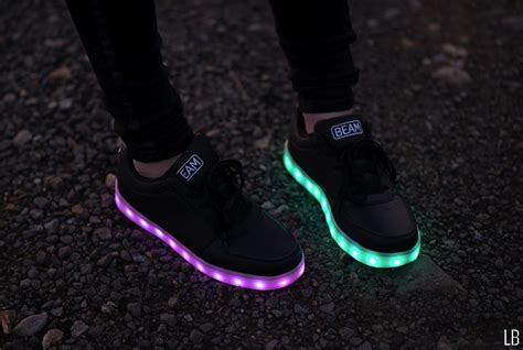 shoes with light fashionable led light up shoes raindrops of sapphire