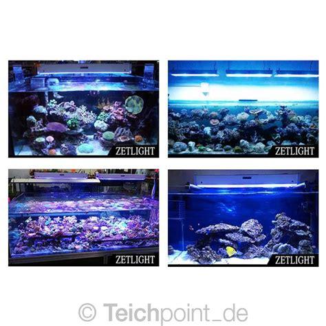 led beleuchtung aquarium zetlight aquarium led beleuchtung lancia zp4000
