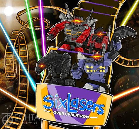 six flags laser lights if you had read transformers exodus it would sense