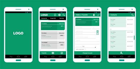 Android App Design mobile banking xinyu ma interaction amp visual designer