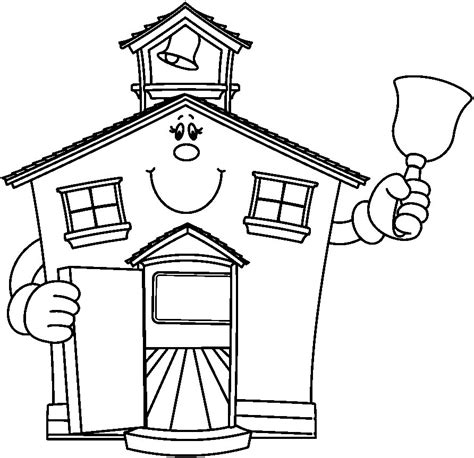 free coloring pages of school houses school house coloring pages az coloring pages
