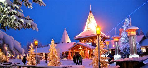 casa di babbo natale finlandia il villaggio di babbo natale in lapponia
