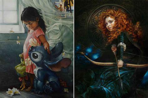 painting disney princess