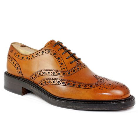 oxford brogue shoes barker westfield mens oxford brogue shoe leather
