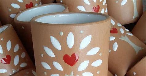 bicchieri in terracotta ceramica come mestiere bicchieri in terracotta e smalto