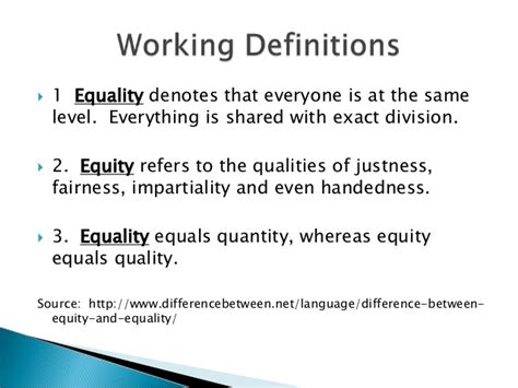 is everyone really equal an introduction to key concepts in social justice education multicultural education series equity vs equality spring14