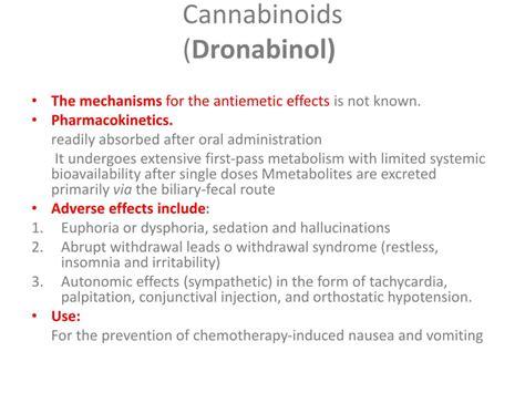 Cannabanoid Detox by Ppt Antiemetics Powerpoint Presentation Id 300619