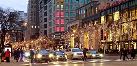 christmas magic amidst chicago s magnificent mile the