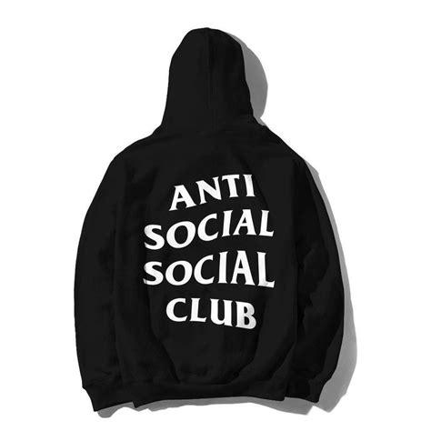 Assc Mind Zip Hoodie Black White Assc Original anti social social club mind hoodie black 119193022