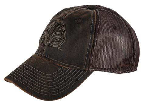 real tree cap realtree outfitters waxed mesh logo cap polyester brown
