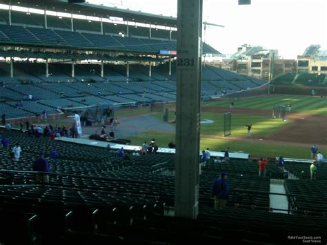 wrigley field section 202 section 204 wrigley field section 204 seat view at