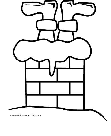 coloring pages santa chimney santa upside down in the chimney color page christmas