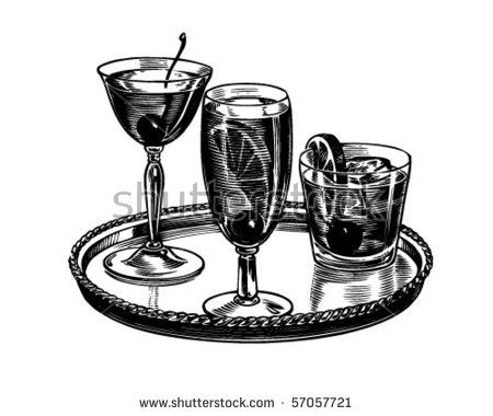 retro cocktail clipart vintage cocktail stock images royalty free images
