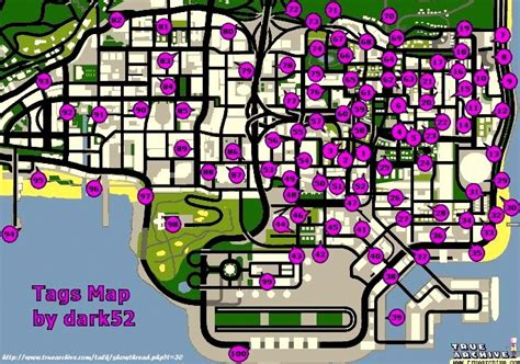 spray paint gta san andreas gta san andreas tags map locations spray walkthrough