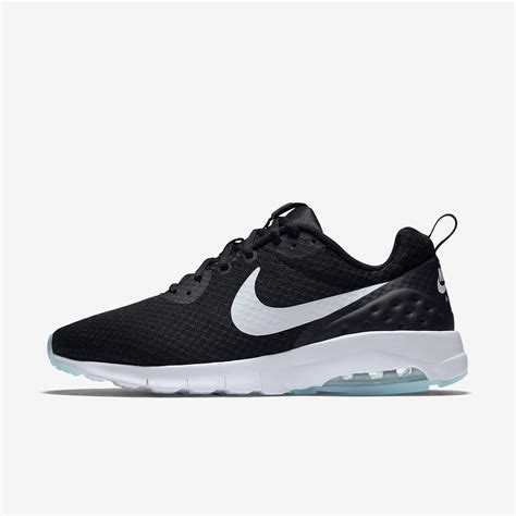 nike a max nike mens air max motion low running shoes black white