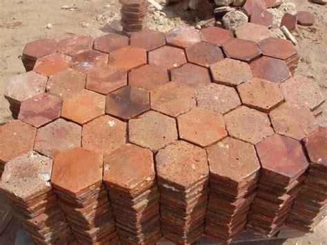 Handmade Quarry Tiles - gorgeous reclaimed terracotta tiles i the