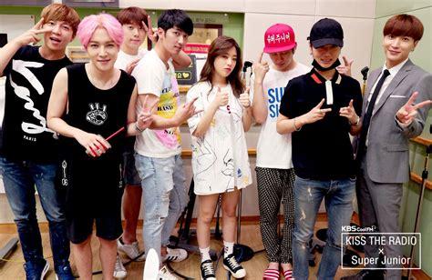 exo gfriend super junior celebrates 10 years of kiss the radio and