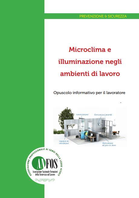 illuminazione ambienti di lavoro studio dentistico balestro microclima e illuminazione