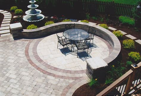 simple patio design types of brick patio designs to make your garden more