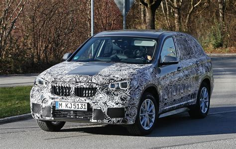bmw inside 2016 2016 bmw f48 x1 interior revealed almost in full