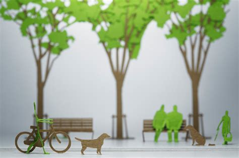 How To Make Model Trees From Paper - terada mokei