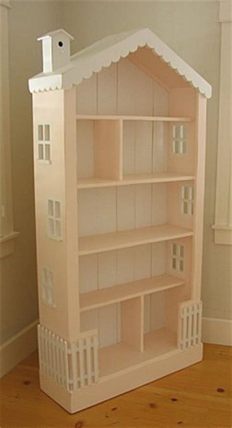 crooked house dollhouse bookshelf
