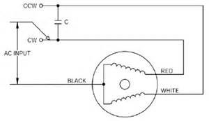 single phase motor centrifugal switch single wiring diagram and circuit schematic